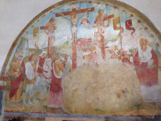 San Pietro affresco